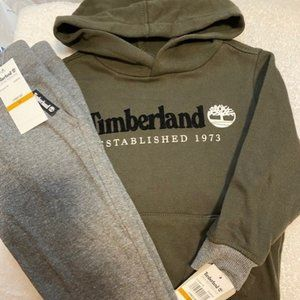 Timberland Boys Size 3T Hoodie Pant Outfit Set